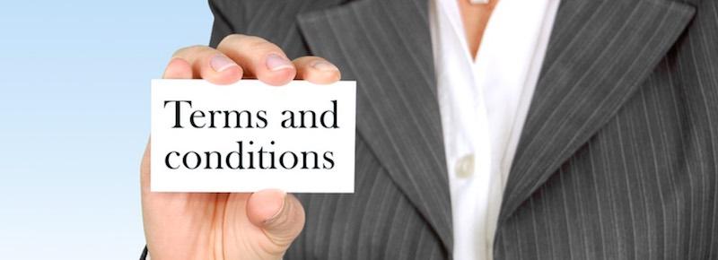 villkor för kreditkort
